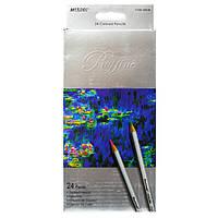 Цветные карандаши Marco 24 цвета Raffine
