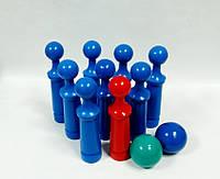 Кегли - 9 шт + 2 шарика