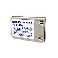 Аккумулятор к фото/видео PowerPlant Samsung SB-P180A (DV00DV1237)