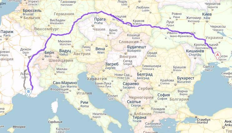 Перевозка стройматериалов Украина - Франция