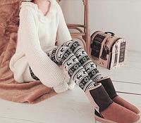 С чем носить лосины и леггинсы зимой.