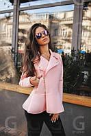 Куртка женская Неопреновая стильная розовая