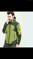 Лыжная мужская куртка Windstopper, ветронепродуваемая, прорезиненные замки, водоотталкивающая