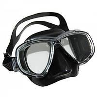 Фирменная маска для дайвинга Cressi-Sub Perla Black