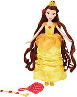 Hasbro Disney  Принцесса  Белль с длинными волосами и аксессуарами (В5292/В5293)