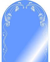Зеркало арка с узором размером 80х60 см