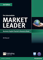 Книга для учителя Market Leader (3rd Edition) Pre-Intermediate Teacher's Resource Book + Test Master CD-ROM