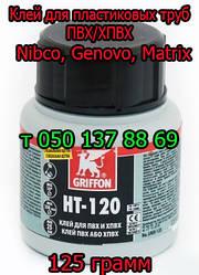 Клей, праймер для пластиковых труб Genovo, Nibco, Martix (ПВХ/ХВПХ)
