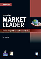 Книга для учителя Market Leader (3rd Edition) Intermediate Teacher's Resource Book + Test Master CD-ROM