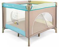 Детский манеж Milly Mally Crib Fun  Blue Safari Crib_002