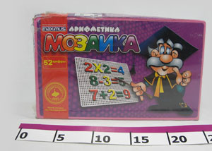 Мозаика для маленьких 350 эл. в коробке - интернет-магазин ALLEGRETTO в Харькове