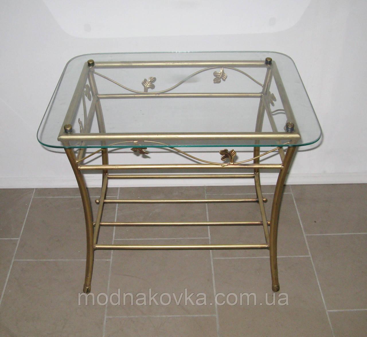 Кованый столик прямоугольный