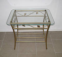 Кованый столик прямоугольный, фото 1
