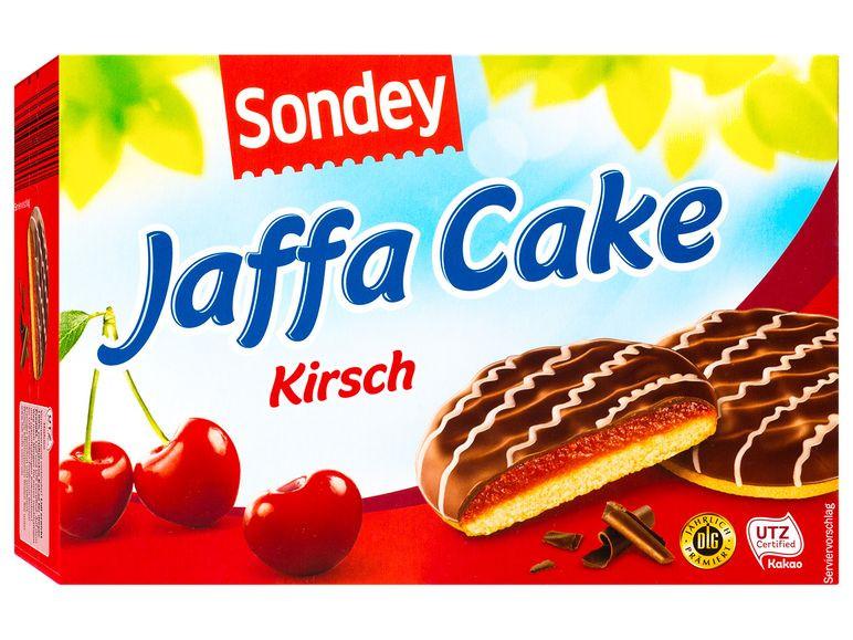 SONDEY Jaffa Cake Kirsch Сондей Джафа Кейк Печенье с вишневым желе в шоколаде 300 г.