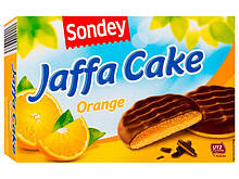 SONDEY Jaffa Cake Огапде Сондей Джафа Кейк Печиво з апельсиновим желе у шоколаді 300 р.