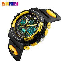 Детские наручные часы SKMEI 1163 Original yellow