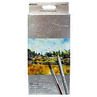 Цветные карандаши Marco 24 цвета Raffine акварельные