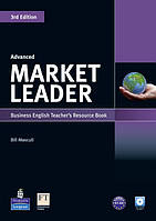 Книга для учителя Market Leader (3rd Edition) Advanced Teacher's Resource Book + Test Master CD-ROM
