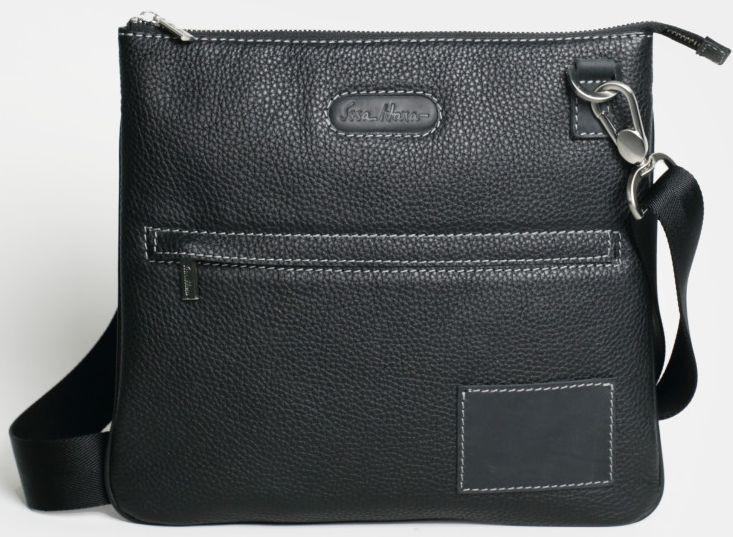 Мужская сумка через плечо ISSA HARA B9 11-31 черная