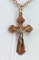 Крест золотой 585 проба