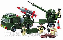 Конструктор детский Brick Ракетная Установка 812