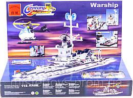 Конструктор детский Brick 112 корабль