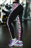 Леггинсы для фитнеса Rainbow, фото 1