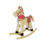 Качалка лошадь музыкальная