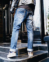 ДЖИНСЫ RESALSA 8704 МУЛЬТИСЕЗОН стильная мужская одежда, джинсы, брюки, шорты