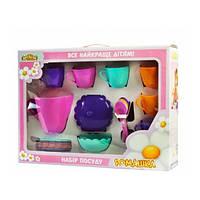 Набор игрушечной посуды Ромашка 22 элемента 39132