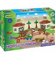 Игровой набор Wader, ранчо с дорогой 1,6 м.