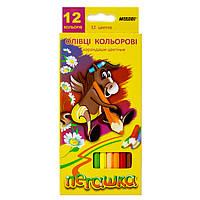 Цветные карандаши Marco Пегашка 12 цв, фото 1