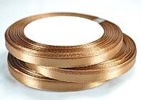 Стрічка атласна 7мм 10шт коричнева 23м ЛА07-52