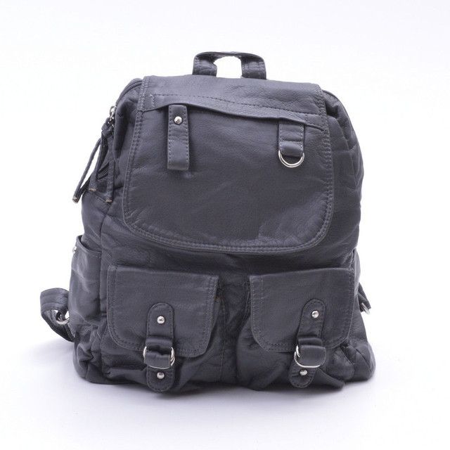 Городской рюкзак из эко-кожи