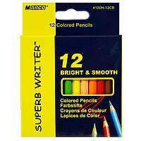 Карандаши Marco SuperbWrite мини 12 цветов