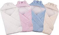 Конверт-одеяло с капюшоном Soft Jacquard 655, Duetbaby