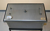 Коптильня 2-х ярусная 520х300х280 с термометром