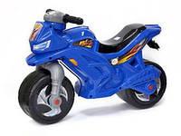 Мотоцикл детский беговел музыкальный 501B Синий