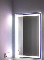 Влагостойкое Зеркало с ЛЕД подсветкой 500 х 700