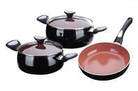 Набор посуды 5 предметов GRANCHIO Terracotta 88129