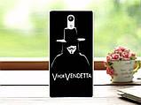 Чехол силиконовый бампер для Lenovo Vibe P1m с картинкой джентельмен, фото 7