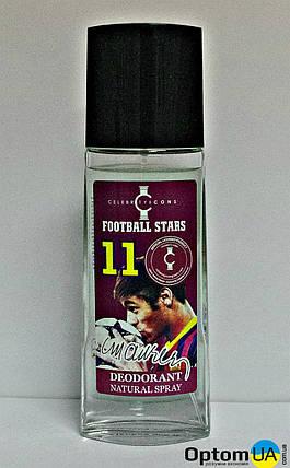 BI-ES Football Stars 11 Дезодорант парфюмированный стекло Neimar (Неймар) 100мл , фото 2