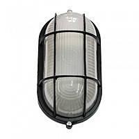 Настенный светильник Magnum MIF 022 100W, решетка, белый/черный, влагозащита, патрон E27