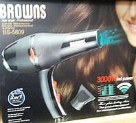 Фен для волос Professional Browns BS-5809, 3000 W