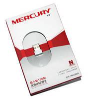 Сетевой адаптер WiFi Mercury MW150US, White, USB, WiFi 802.11n, 150 Мбит/с, Nano