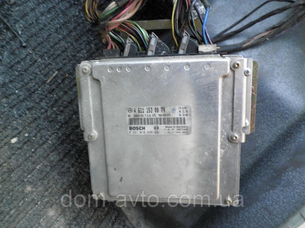 Блок управления двигателем Mercedes Vito вито 638 2.2 CDI