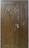 Входная дверь Серия «Standart 8/8» LV 101  улица (1200х2050)