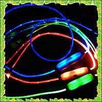 Светящиеся наушники light Earphone