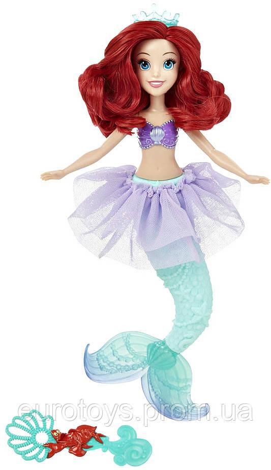 Hasbro Disney  кукла Принцесса  Ариэль для игры с водой (В5302/В5303)