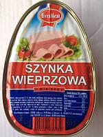 Ветчина консервированная Szynka wieprzowa 455г